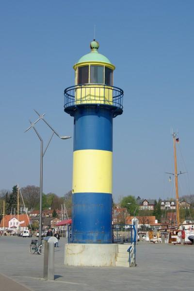 Alter Leuchtturm Eckernforde Hafen