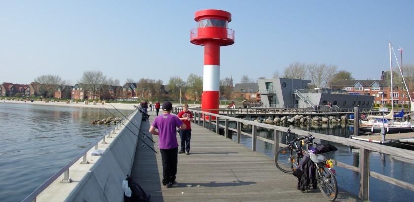 Leuchtturm Eckernförde Hafen