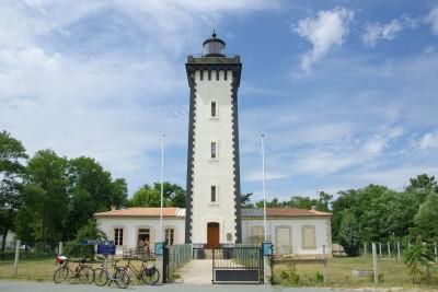 Eingang des Leuchtturm Pointe-de-Grave